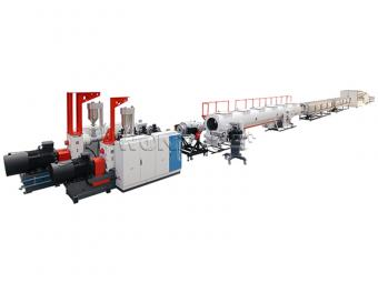 multilayer pipe extrusion line